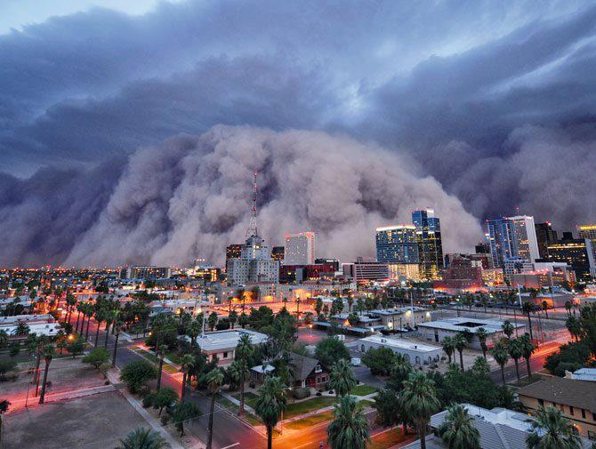 tempesta di sabbia australia