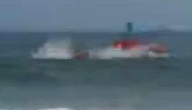 elicottero dei vigili si schianta in mare