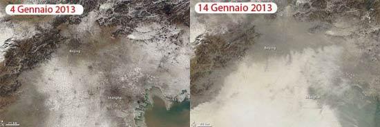 smog cina a confronto