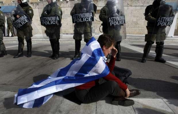 grecia al collasso
