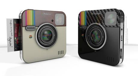 La Polaroid Socialmatic Camera