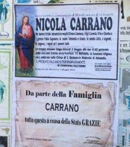 OPERAIO SENZA LAVORO SI SUICIDA: FAMIGLIA, COLPA DELLO STATO