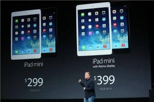 Apple: iPad Mini con retina Display