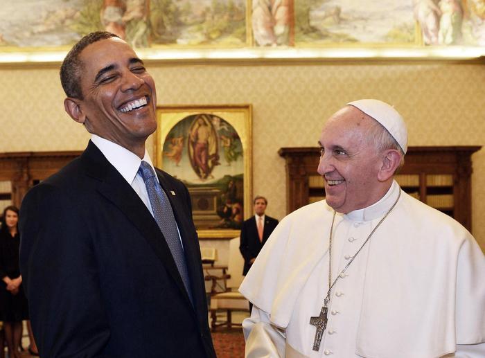 Obama e papa Francesco