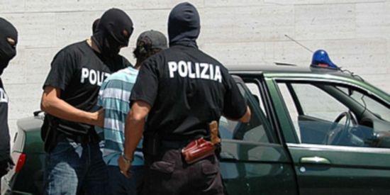 polizia blocca rom