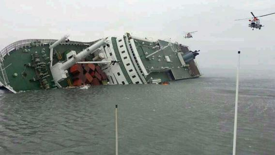 corea naufragio traghetto