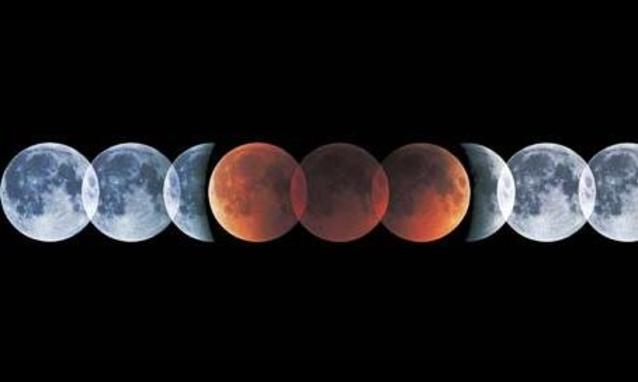 Cielo Rosso Di Notte.Eclisse Di Luna Il Cielo Di Aprile Si Tinge Di Rosso